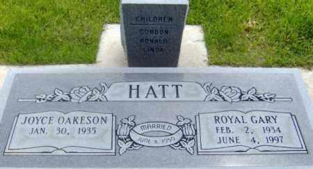 HATT, JOYCE - Salt Lake County, Utah | JOYCE HATT - Utah Gravestone Photos