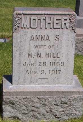 SAMUELSON HILL, ANNA MATILDA - Salt Lake County, Utah | ANNA MATILDA SAMUELSON HILL - Utah Gravestone Photos