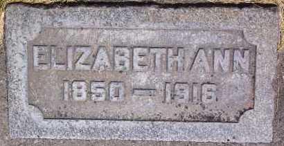 HILL, ELIZABETH ANN - Salt Lake County, Utah   ELIZABETH ANN HILL - Utah Gravestone Photos