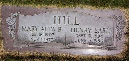 HILL, MARY ALTA - Salt Lake County, Utah | MARY ALTA HILL - Utah Gravestone Photos