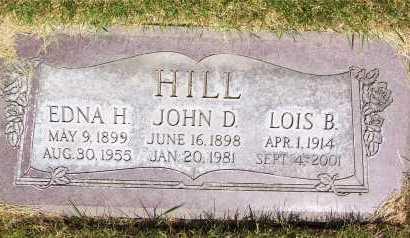 HILL, JOHN DEWEY - Salt Lake County, Utah | JOHN DEWEY HILL - Utah Gravestone Photos