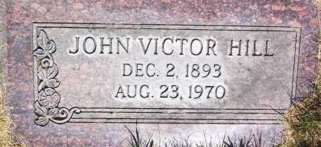 HILL, JOHN VICTOR - Salt Lake County, Utah | JOHN VICTOR HILL - Utah Gravestone Photos