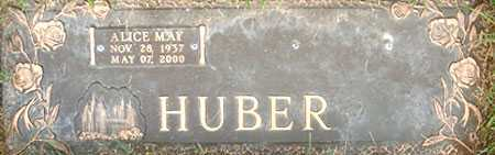 HUBER, ALICE MAY - Salt Lake County, Utah | ALICE MAY HUBER - Utah Gravestone Photos