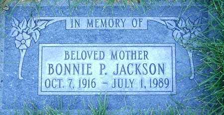 JACKSON, BONNIE PEARL - Salt Lake County, Utah | BONNIE PEARL JACKSON - Utah Gravestone Photos