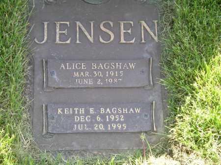 JENSEN, ALICE VIRGINIA - Salt Lake County, Utah   ALICE VIRGINIA JENSEN - Utah Gravestone Photos