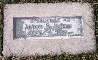 JENSEN, ANTON P. - Salt Lake County, Utah | ANTON P. JENSEN - Utah Gravestone Photos