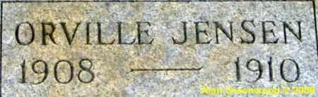 JENSEN, ORVILLE DAVID - Salt Lake County, Utah   ORVILLE DAVID JENSEN - Utah Gravestone Photos