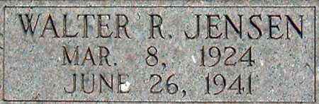 JENSEN, WALTER ROBERT - Salt Lake County, Utah | WALTER ROBERT JENSEN - Utah Gravestone Photos