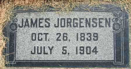 JORGENSEN, JAMES (JENS) - Salt Lake County, Utah   JAMES (JENS) JORGENSEN - Utah Gravestone Photos