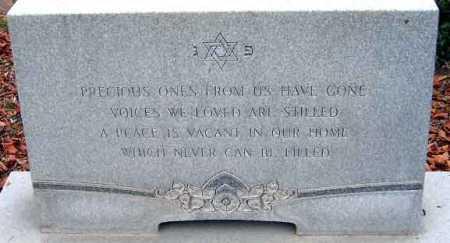 KAPLAN, MEMORIAL - Salt Lake County, Utah   MEMORIAL KAPLAN - Utah Gravestone Photos