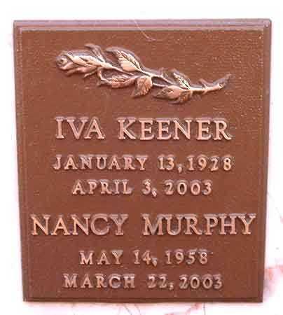 MURPHY, NANCY - Salt Lake County, Utah | NANCY MURPHY - Utah Gravestone Photos