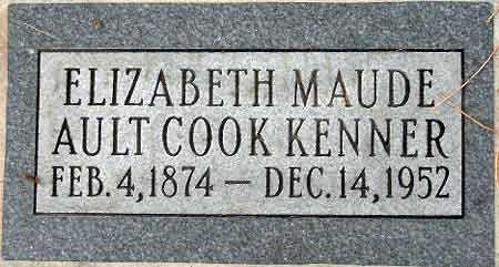 COOK, ELIZABETH MAUDE - Salt Lake County, Utah | ELIZABETH MAUDE COOK - Utah Gravestone Photos