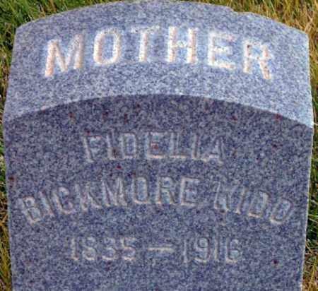 BICKMORE, FIDELIA - Salt Lake County, Utah | FIDELIA BICKMORE - Utah Gravestone Photos