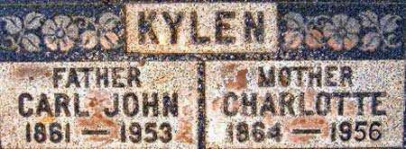 KYLEN, CHARLOTTA EUGENIA - Salt Lake County, Utah | CHARLOTTA EUGENIA KYLEN - Utah Gravestone Photos