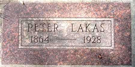 LAKAS, PETER - Salt Lake County, Utah | PETER LAKAS - Utah Gravestone Photos