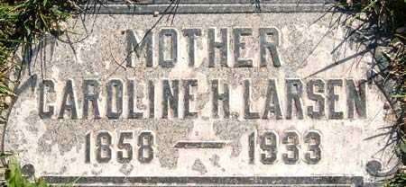 LARSEN, CAROLINE - Salt Lake County, Utah   CAROLINE LARSEN - Utah Gravestone Photos