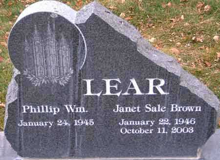 BROWN, JANET SALE - Salt Lake County, Utah   JANET SALE BROWN - Utah Gravestone Photos