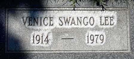 SWANGO LEE, VENICE MAE - Salt Lake County, Utah   VENICE MAE SWANGO LEE - Utah Gravestone Photos