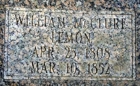LEMON, WILLIAM MC CLURE - Salt Lake County, Utah   WILLIAM MC CLURE LEMON - Utah Gravestone Photos