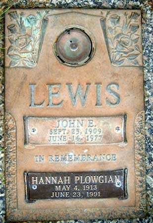 LEWIS, JOHN EDWARD - Salt Lake County, Utah | JOHN EDWARD LEWIS - Utah Gravestone Photos