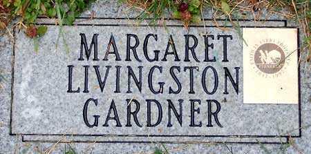 LIVINGSTON, MARGARET - Salt Lake County, Utah   MARGARET LIVINGSTON - Utah Gravestone Photos