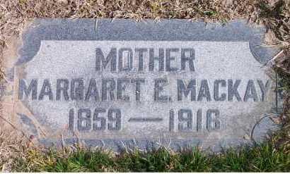 PARK MACKAY, MARGARET ELLEN - Salt Lake County, Utah   MARGARET ELLEN PARK MACKAY - Utah Gravestone Photos