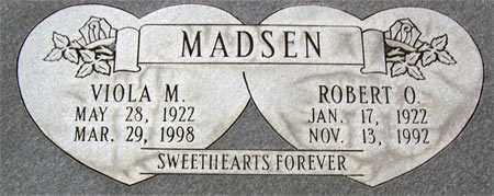 MADSEN, ROBERT OAKLEY - Salt Lake County, Utah | ROBERT OAKLEY MADSEN - Utah Gravestone Photos