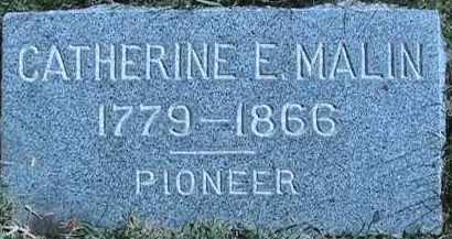 MALIN, CATHERINE - Salt Lake County, Utah | CATHERINE MALIN - Utah Gravestone Photos