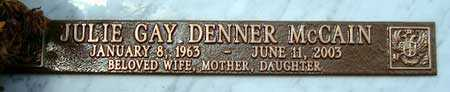 DENNER, JULIE GAY - Salt Lake County, Utah | JULIE GAY DENNER - Utah Gravestone Photos