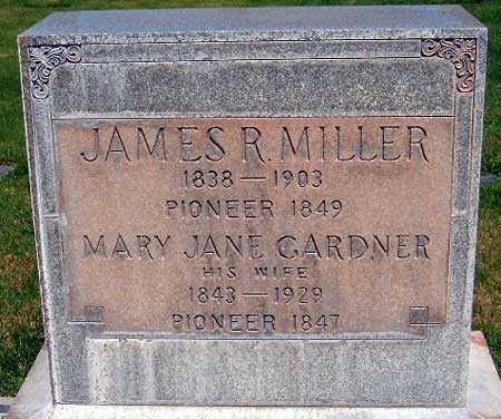 GARDNER, MARY JANE - Salt Lake County, Utah | MARY JANE GARDNER - Utah Gravestone Photos