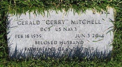 MITCHELL, GERALD - Salt Lake County, Utah   GERALD MITCHELL - Utah Gravestone Photos