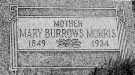BURROWS MORRIS, MARY - Salt Lake County, Utah | MARY BURROWS MORRIS - Utah Gravestone Photos