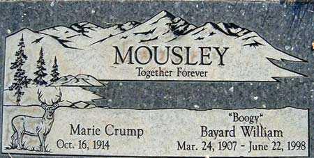 CRUMP, MARIE - Salt Lake County, Utah | MARIE CRUMP - Utah Gravestone Photos