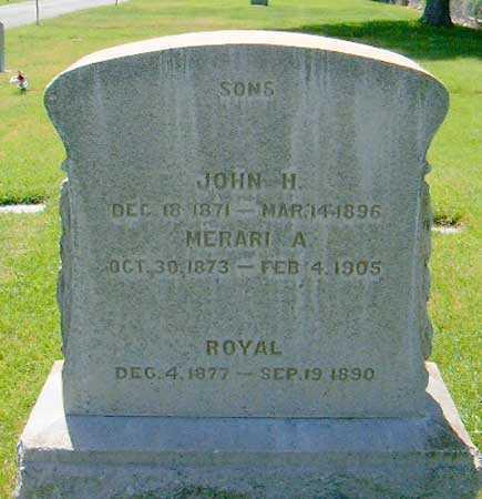 NORTH, JOHN HOWARD - Salt Lake County, Utah | JOHN HOWARD NORTH - Utah Gravestone Photos