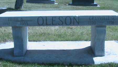 OLESON, GRANVILLE ORLIN - Salt Lake County, Utah | GRANVILLE ORLIN OLESON - Utah Gravestone Photos