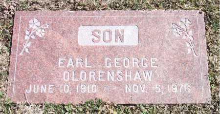 OLORENSHAW, EARL GEORGE - Salt Lake County, Utah | EARL GEORGE OLORENSHAW - Utah Gravestone Photos