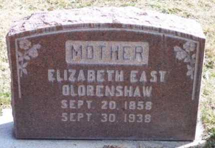 EAST, ELIZABETH - Salt Lake County, Utah | ELIZABETH EAST - Utah Gravestone Photos