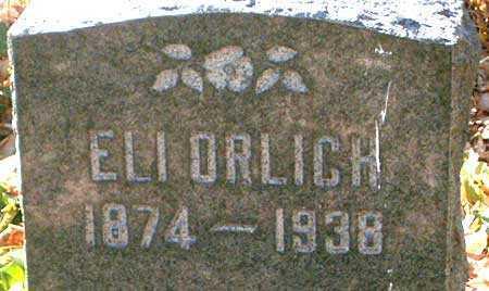 ORLICH, ELI - Salt Lake County, Utah   ELI ORLICH - Utah Gravestone Photos