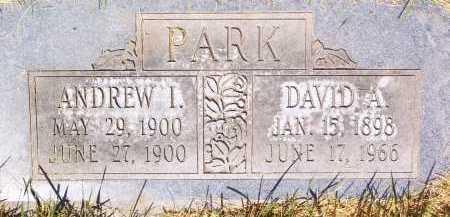 PARK, DAVID ALVIN - Salt Lake County, Utah | DAVID ALVIN PARK - Utah Gravestone Photos