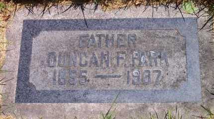 PARK, DUNCAN FINDLEY - Salt Lake County, Utah | DUNCAN FINDLEY PARK - Utah Gravestone Photos