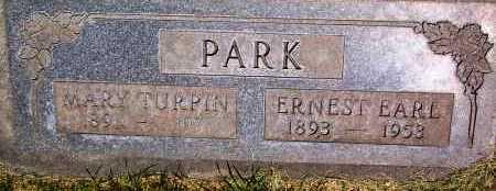 PARK, ERNEST EARL - Salt Lake County, Utah | ERNEST EARL PARK - Utah Gravestone Photos