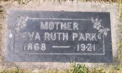 PARK, EVA RUTH - Salt Lake County, Utah | EVA RUTH PARK - Utah Gravestone Photos