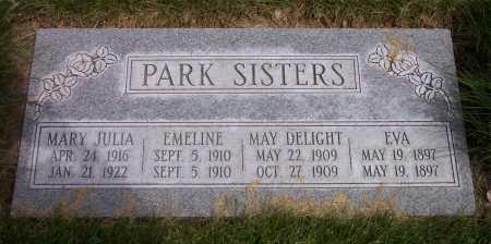 PARK, EVA - Salt Lake County, Utah | EVA PARK - Utah Gravestone Photos