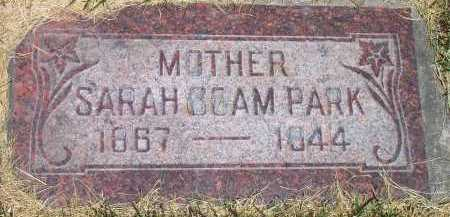 BOAM PARK, SARAH - Salt Lake County, Utah | SARAH BOAM PARK - Utah Gravestone Photos
