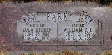 PARK, ZOLA - Salt Lake County, Utah   ZOLA PARK - Utah Gravestone Photos