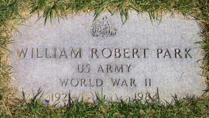 PARK, WILLIAM ROBERT - Salt Lake County, Utah | WILLIAM ROBERT PARK - Utah Gravestone Photos