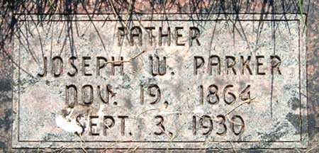 PARKER, JOSEPH WILLIAM - Salt Lake County, Utah | JOSEPH WILLIAM PARKER - Utah Gravestone Photos
