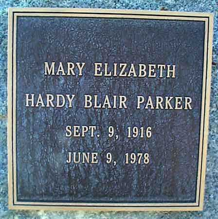 BLAIR, MARY ELIZABETH HARDY - Salt Lake County, Utah | MARY ELIZABETH HARDY BLAIR - Utah Gravestone Photos