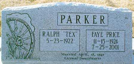 PRICE PARKER, FAYE - Salt Lake County, Utah | FAYE PRICE PARKER - Utah Gravestone Photos
