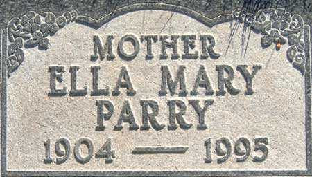 WEBB, ELLA MARY - Salt Lake County, Utah | ELLA MARY WEBB - Utah Gravestone Photos